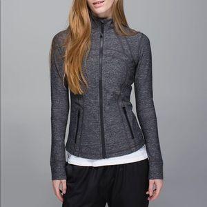 Lululemon Define Jacket in Heathered Black